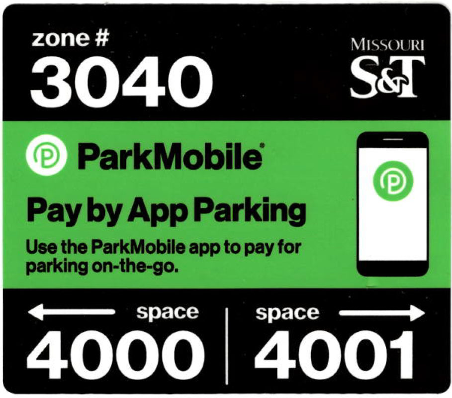 Parking meter decal
