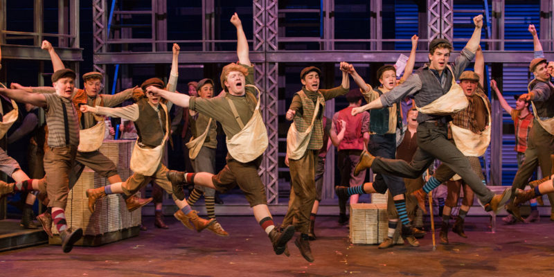 'Newsies' debuts tonight at Leach Theatre