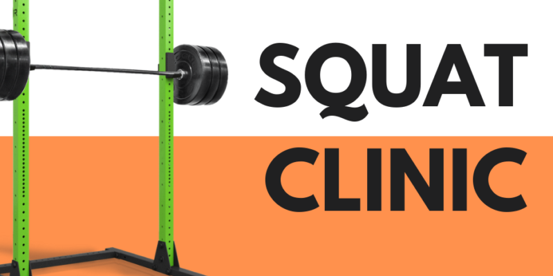 Squat clinic at The Centre