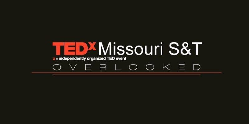 TEDxMissouriS&T tickets now on sale