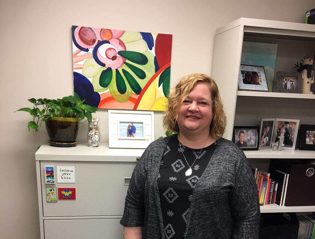 Joann Stiritz in office