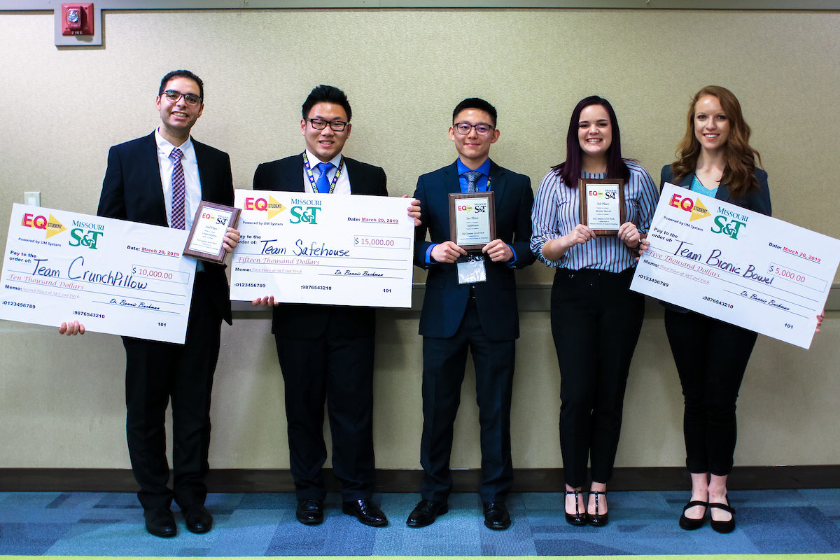 Five students in EQ competition