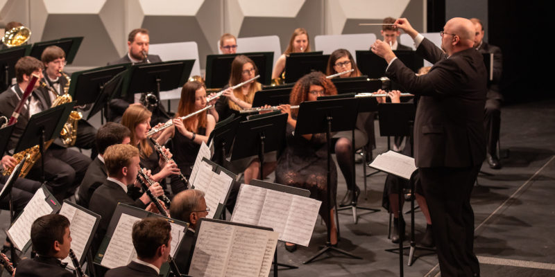 Wind symphony to perform outdoor concert