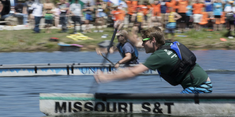 Concrete canoe, steel bridge teams off to the races