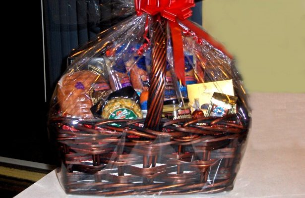 Gift basket donations needed