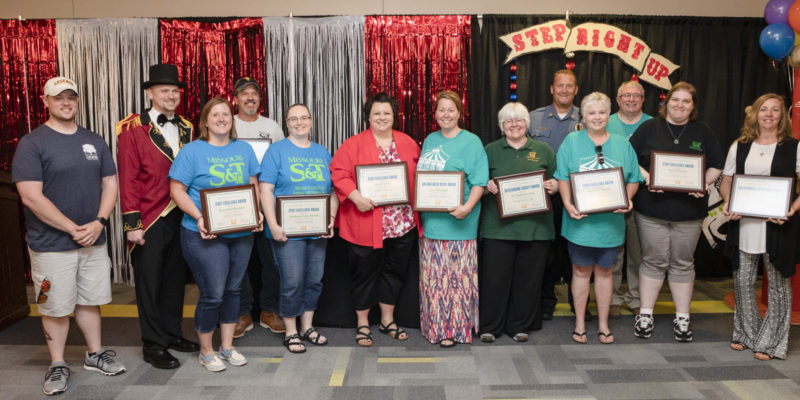 Eleven employees honored at Staff Excellence Awards ceremony