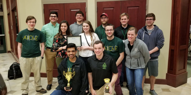 Chem-E-Car earns high finish, qualifies for nationals