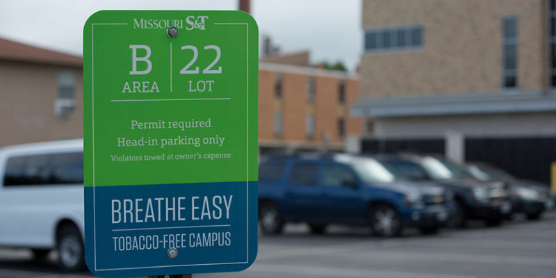 Parking lot changes planned, renew your parking permit