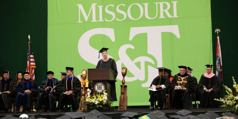 Distance learning graduates earn master's degrees