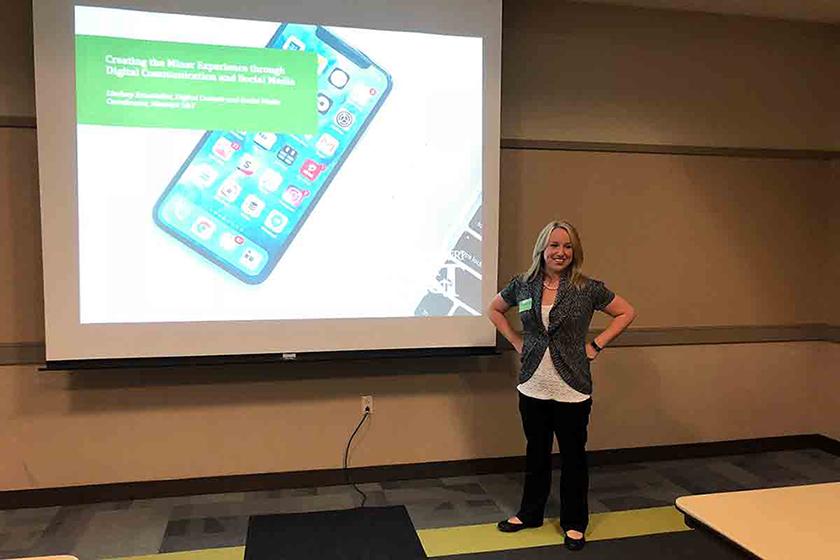 Lindsey Dunstedter presentation