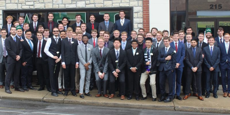 Delta Epsilon Chapter at Missouri S&T received the North American Interfraternity Council's Chapter Award of Distinction
