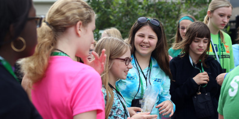 Guides needed for STEM girls' conference