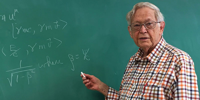 Celebrate 50 years with physics professor