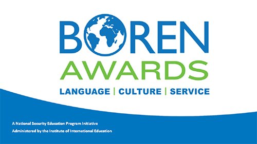 Boren Awards graphic