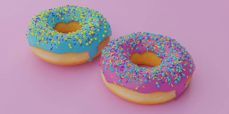 Tell students about doughnuts with DLC