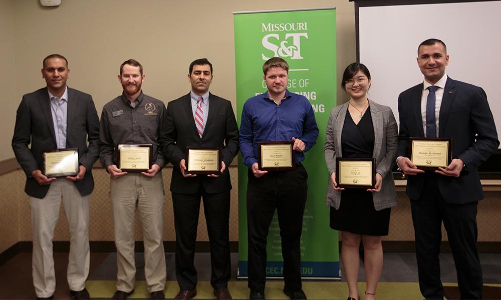 CEC Graduate Educator Award winners