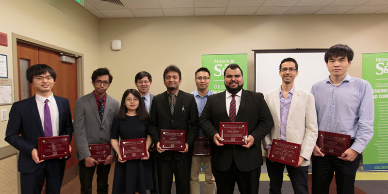 CEC honors 16 graduate students