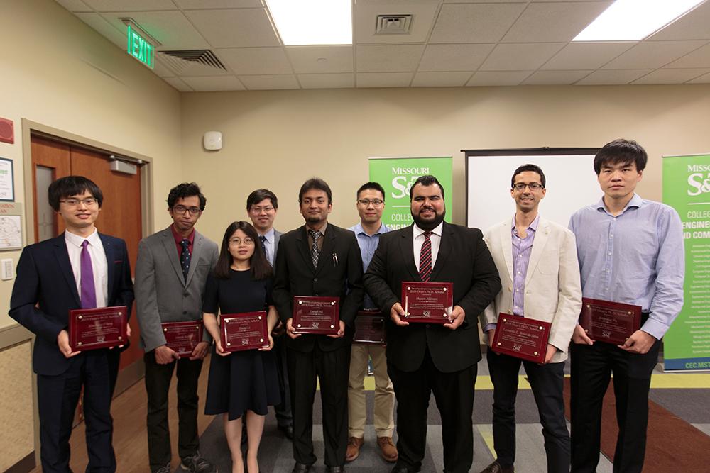 Ph.D. Scholar Award winners