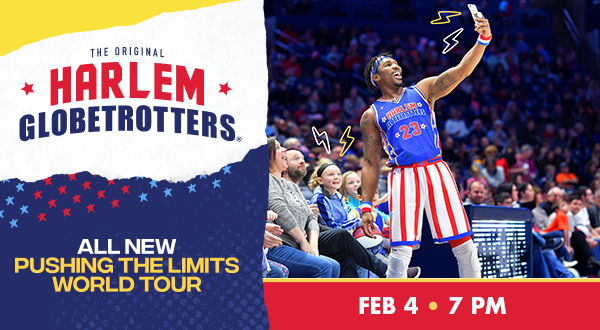 Tickets available for Harlem Globetrotters
