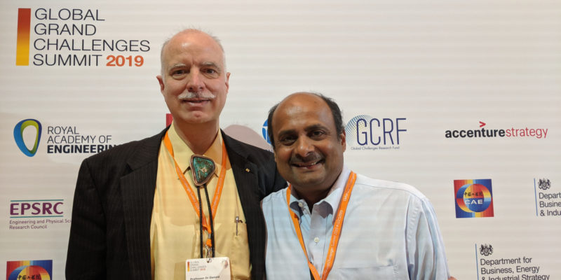 Two S&T professors attend Global Grand Challenges Summit