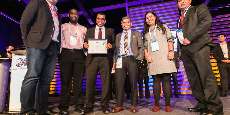 Student places third at petroleum engineers conference