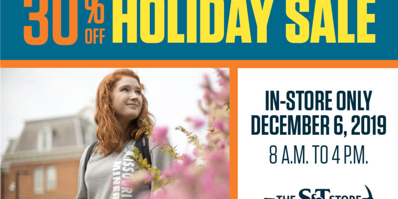 Save 30% at bookstore on Friday