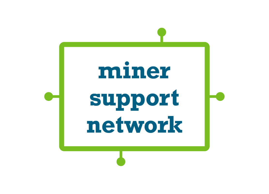 Miner Support Network graphic
