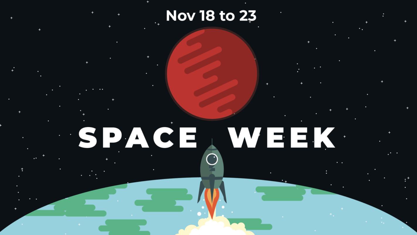 space week graphic