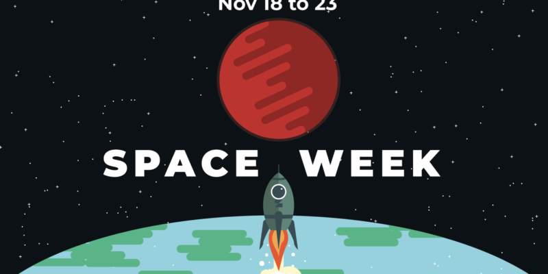 Space Week activities start today