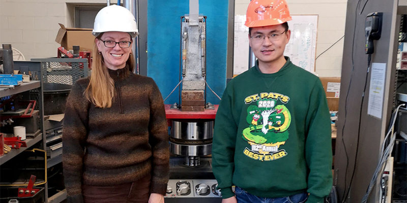 Student receives International Concrete Repair Institute Scholarship