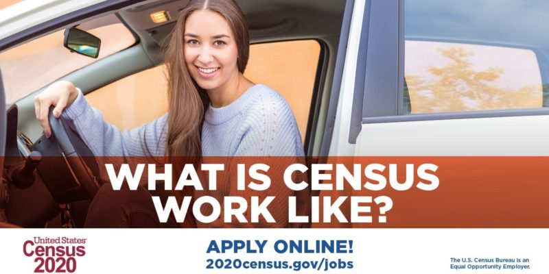 Temporary employees needed for census