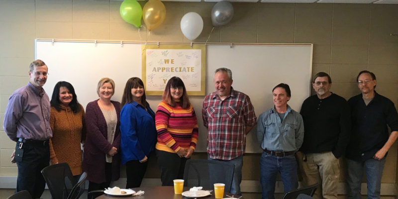 Thank you! Staff Council recognizes MRC staff