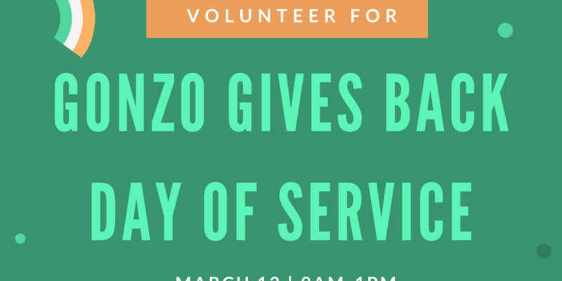 Volunteer during St Pats break (canceled)