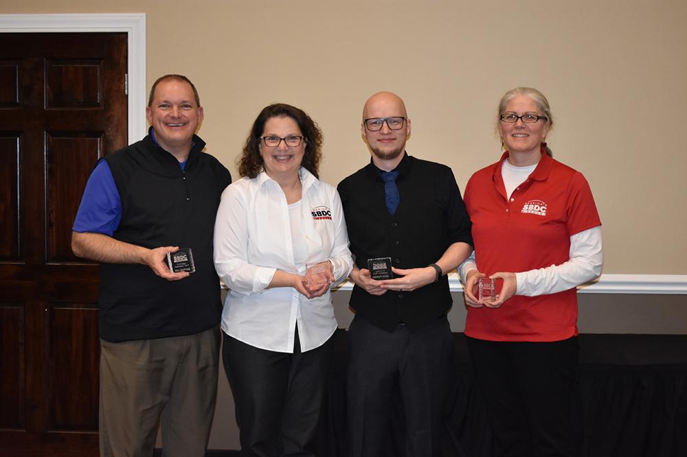 Four awardees