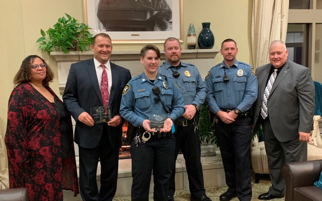 University Police honored for community partnership
