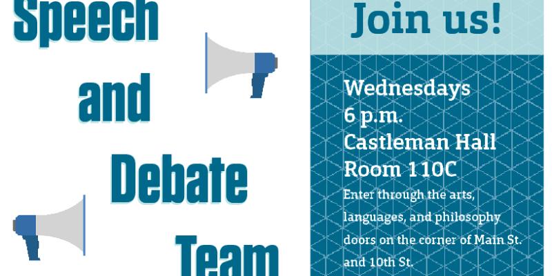 Join Speech and Debate Team