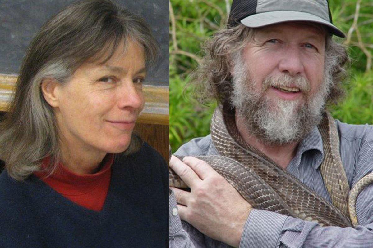 Ellen Pearce and Jim Bogan