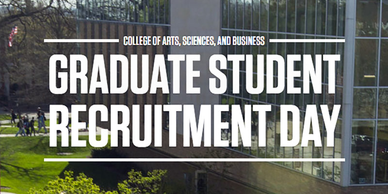 CASB Graduate Student recruitment day
