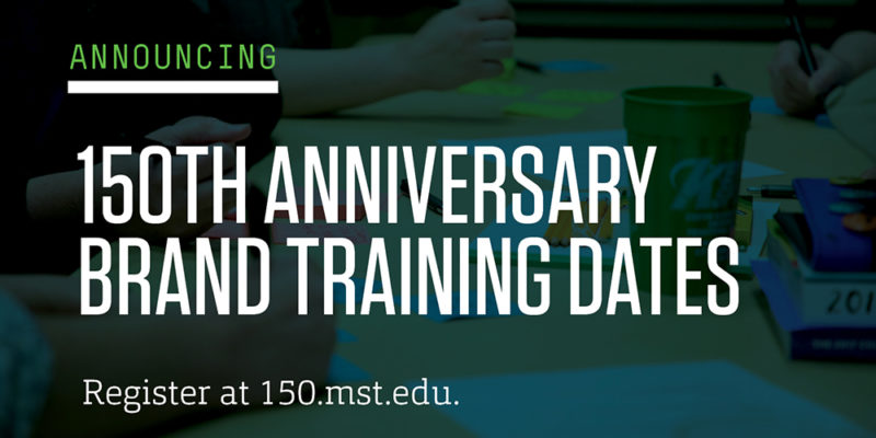 Join the 150th brand training sessions on Zoom