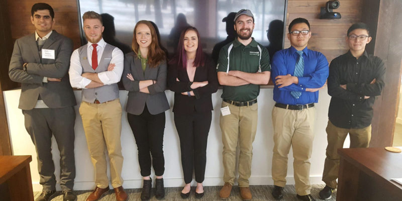 Three student teams compete in virtual contest