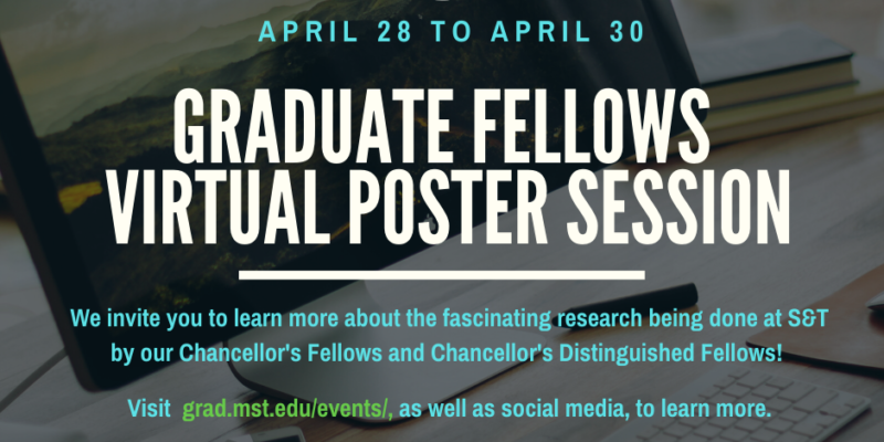 Virtual poster session starts tomorrow