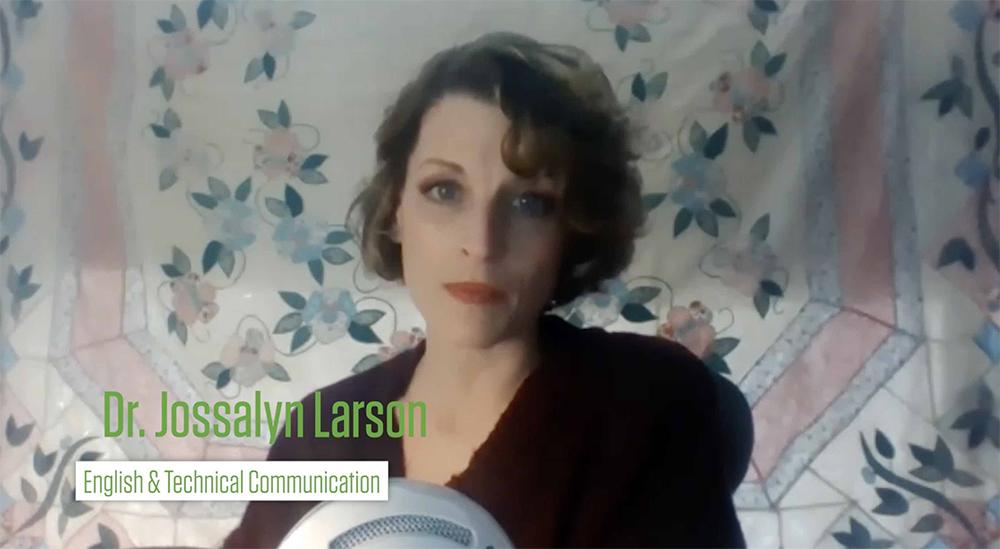Screenshot Jossalyn Larson