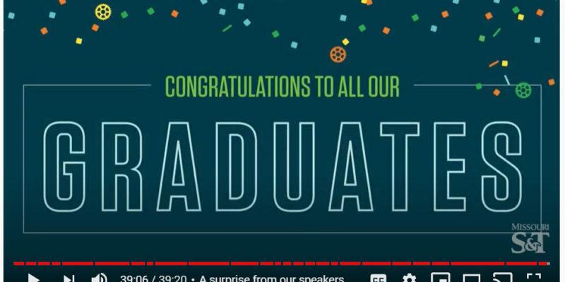 Miss the celebration? Watch it online