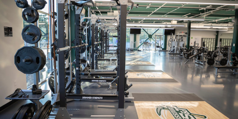 Fitness center reopens, recreation center will be classroom