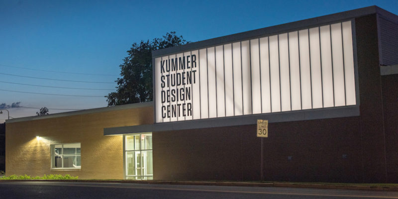 Join Kummer Student Design Center expansion livestream
