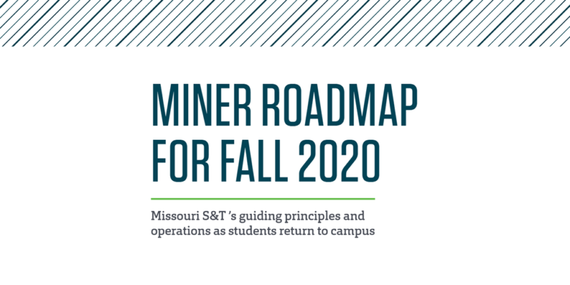 'Miner Roadmap' created to prepare students for fall semester