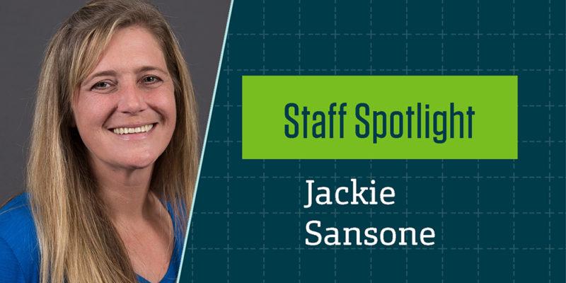 Staff Spotlight: Jackie Sansone