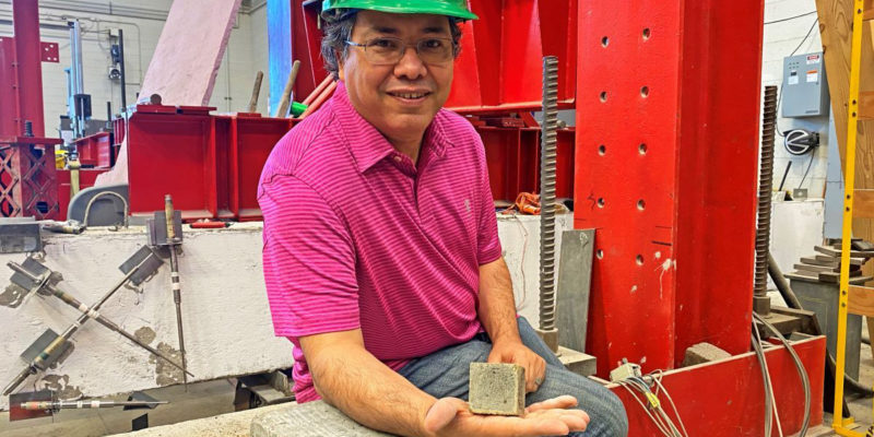 ElGawady honored for contributions to materials sciences