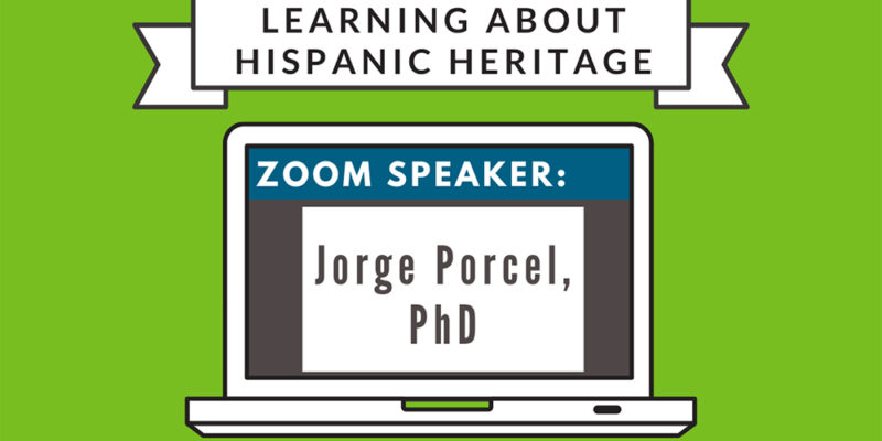 Learn about Hispanic Heritage tomorrow