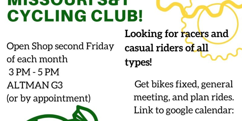 Join Missouri S&T Cycling Club!